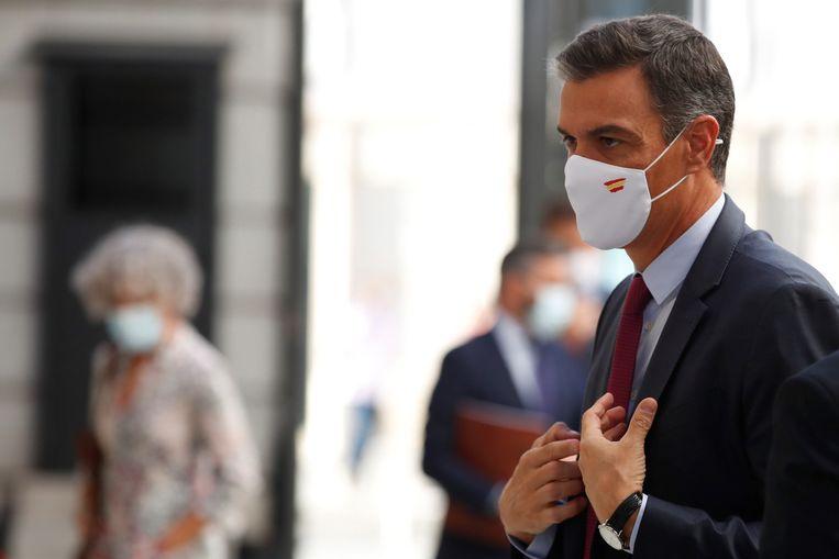 Spaans premier Pedro Sanchez. Beeld EPA