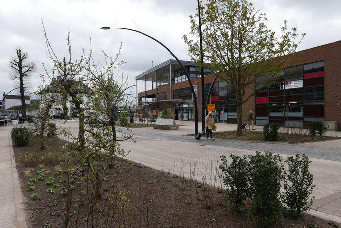 Het nieuwe Stationsplein in Boxtel.