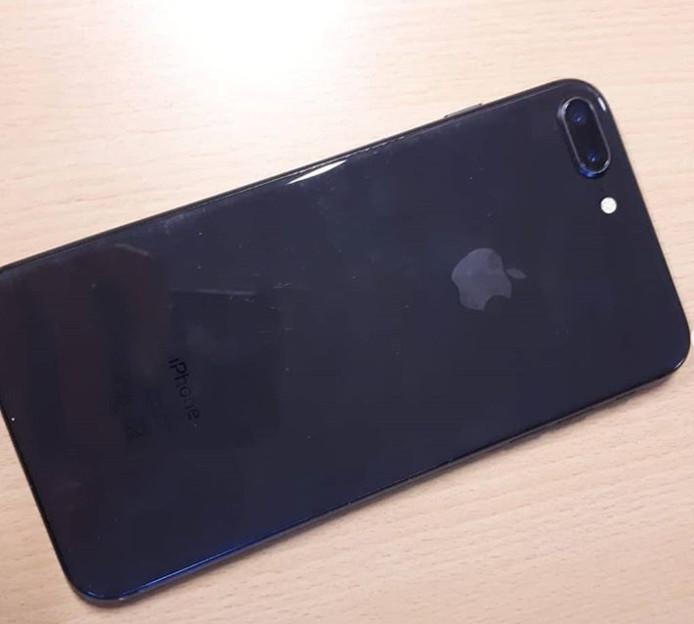 Deze iPhone is gevonden op het terras van de Skihut.