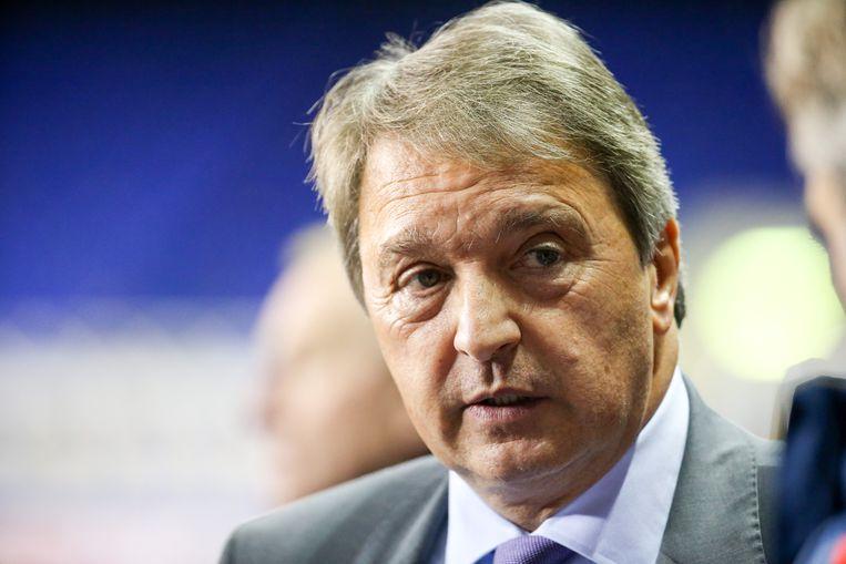 Herman Van Holsbeeck, sportief manager van RSC Anderlecht. Beeld BELGA