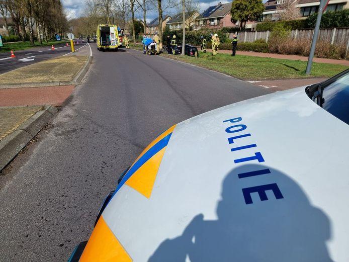 Het ongeval aan de Westerlijke Esweg in Hengelo.