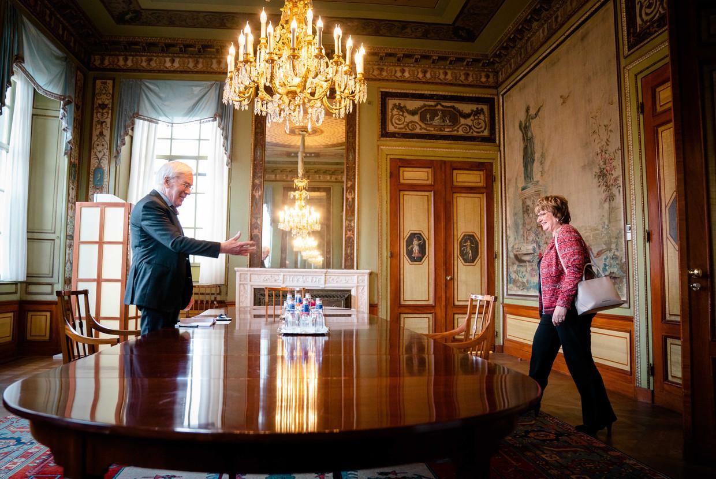 Herman Tjeenk Willink en Mariette Hamer.