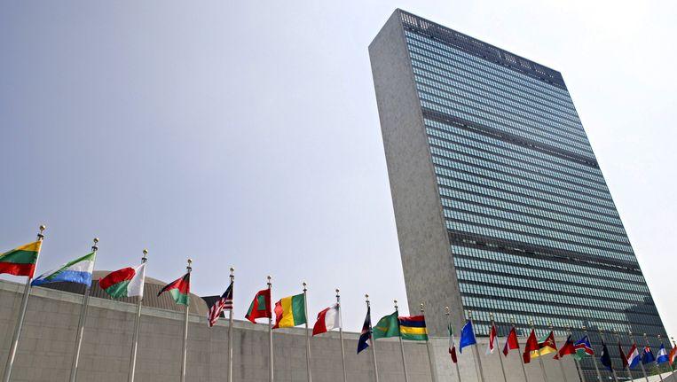 Het VN-gebouw in New York. Beeld ap