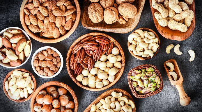 Noten en zaden: lekker in je maaltijden.