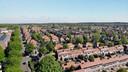 Dronebeelden van de Geitenkamp in Arnhem, waar tal van sociale huurhuizen werden opgekocht door multimiljonair George Soros.