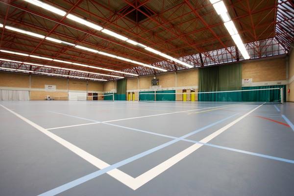 De sporthal van Puyenbroeck