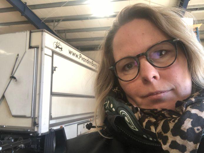 Sandra van den Berg van de fietsonderdelen. 'Dit is niet meer te snappen.'