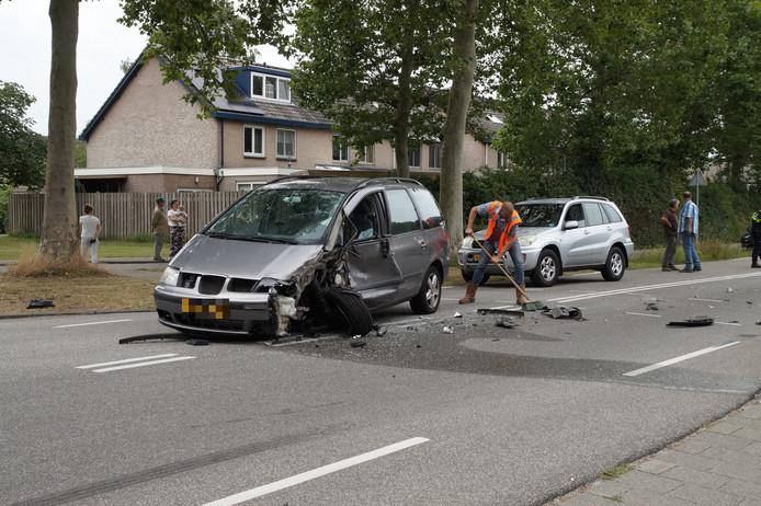 Ongeluk op de Duinweg.