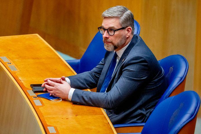 D66-Kamerlid Sidney Smeets.