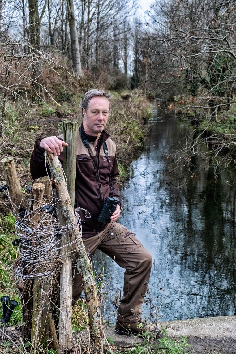 Jean-Pierre Nicaise beleeft een speciaal, maar heftig jaar als boswachter. Beeld Tim Dirven