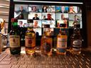 De virtuele whiskytour van Lieffering bestaat uit verschillende whisky's uit onder andere Amerika en Schotland.
