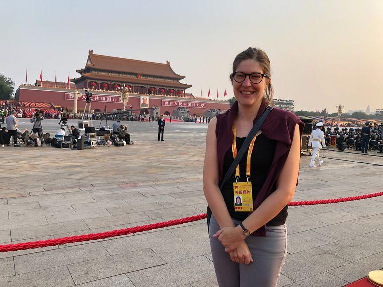 'Chinezen zijn uit zichzelf heel voorzichtig. Toen ik aan mijn vrienden vroeg wat ze gingen doen op de eerste dag na hun quarantaine, was hun antwoord: 'Nog wat langer binnenblijven.'' Beeld rv