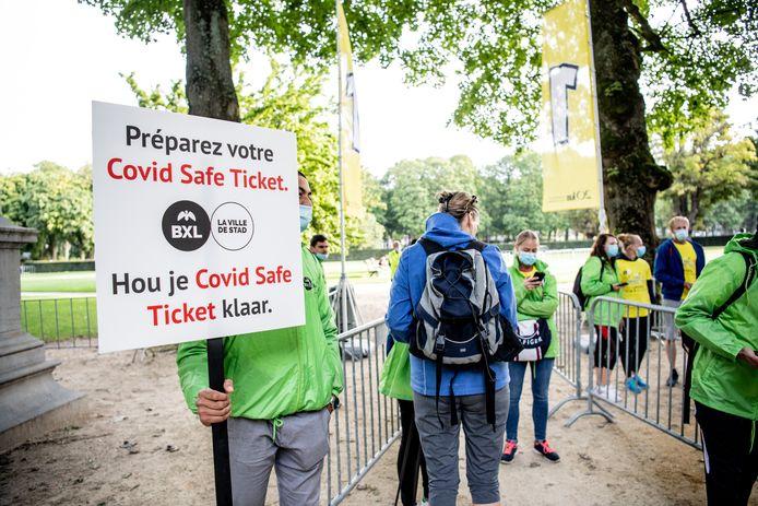 Le Covid Safe Ticket va subir une mise à jour.