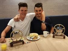Jungels en Alaphilippe met glimlach aan het ontbijt, record voor Tankink