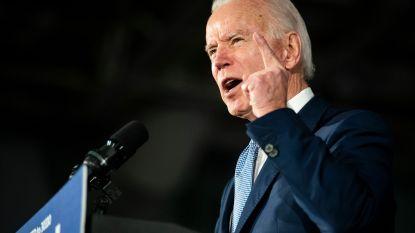Vandaag Super Tuesday. Opgave twee tegenkandidaten komt Biden goed uit