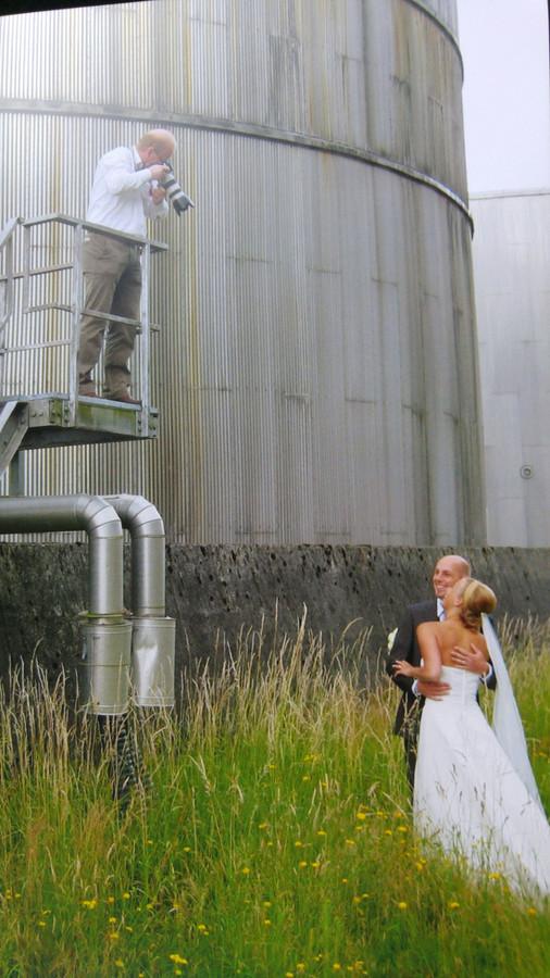 9 jaar geleden trouwde Wooty Hamstra met haar man bij de IJsselcentrale