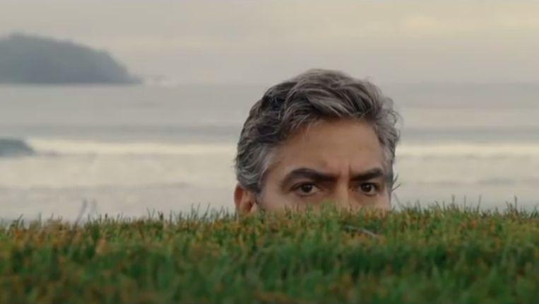 George Clooney in The Descendants. Beeld