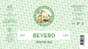 Beyerd White IPA. 7,2% Tarwehout en hop met citrusachtige aroma's: aangenaam bitter en fris bier.