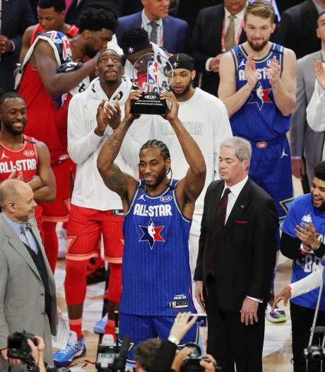 Eerste Kobe Bryant MVP award voor Kahwi Leonard