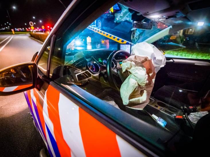 Politieachtervolging die in Eindhoven begint eindigt met botsing in Nuenen