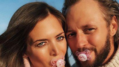 Astrid Coppens kondigt het geslacht van haar eerste kindje aan