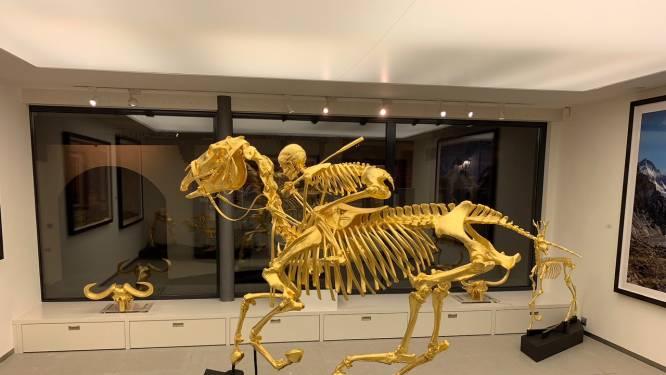 Hessink uit Zwolle veilt met goud overgoten skeletten en machinegeweer: 'We doen graag iets aparts'