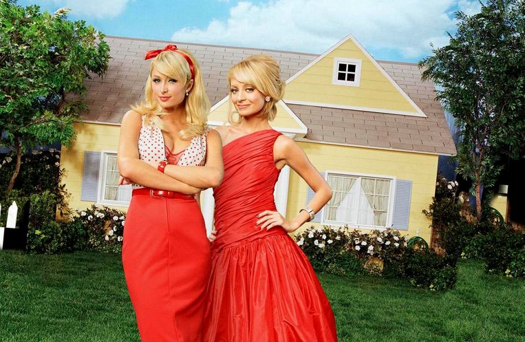 Paris Hilton en Nicole Richie in 'The Simple Life'.