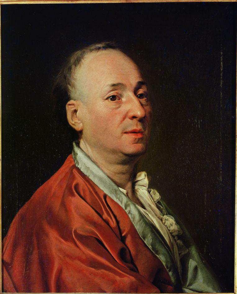 """De Franse verlichtingsdenker Diderot schreef: """"Laten we de laatste koning wurgen met de darmen van de laatste pastoor."""" Zo'n uitspraak, toegepast op een andere religie dan de christelijke, zou de man vandaag in nauwe schoentjes brengen, meent Elchardus. Beeld akg-images / Erich Lessing"""