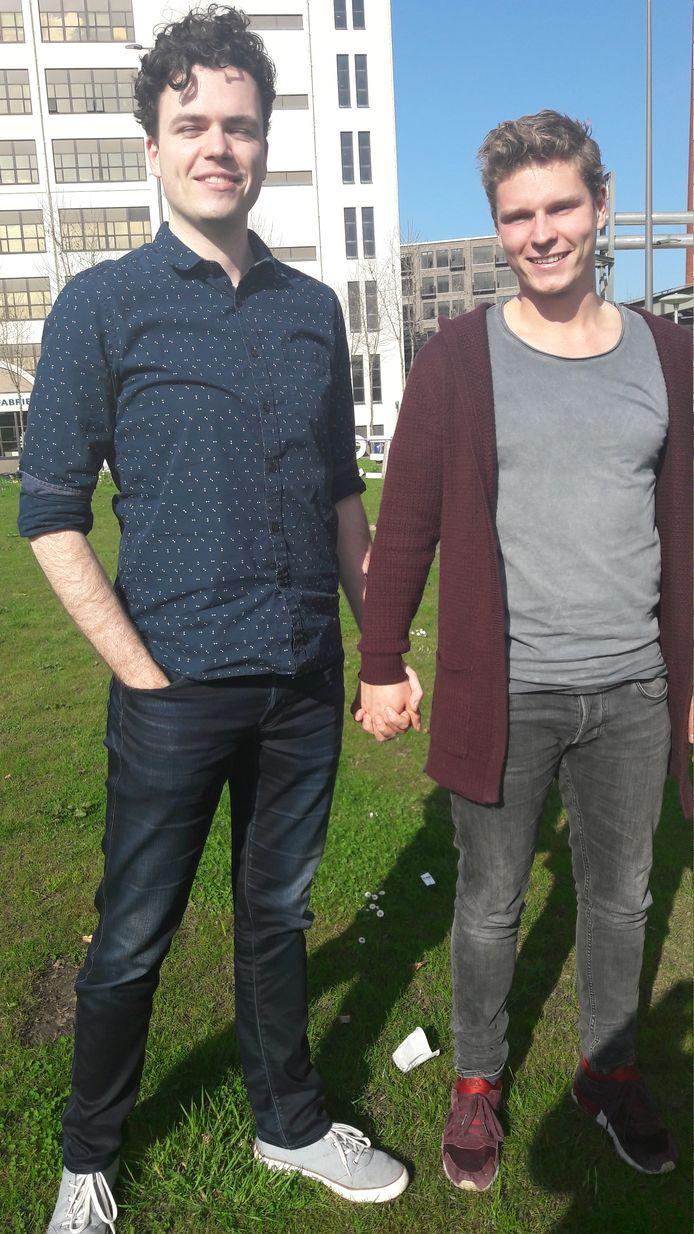Jasper van Ooyen  uit Tiel en Bram Somers uit Eindhoven.