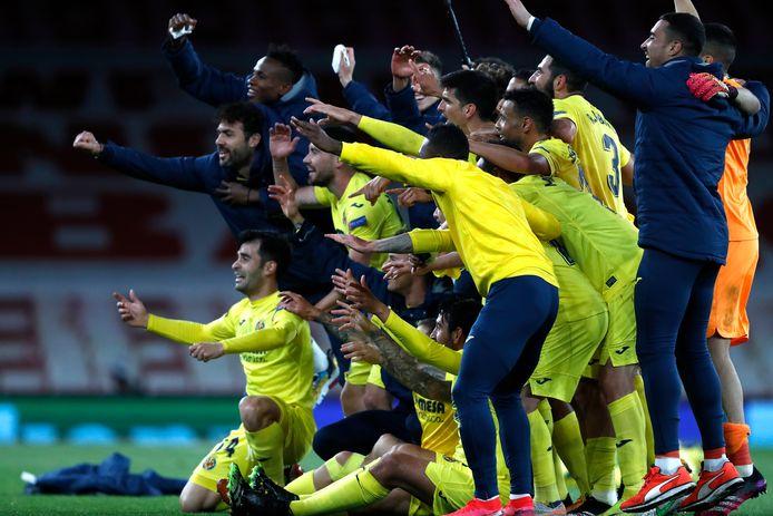 Villarreal verbrodde het Engelse feestje door Arsenal uit te schakelen.