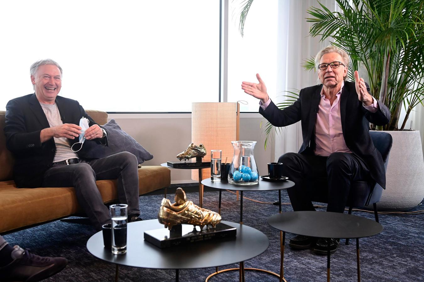 Marc Degryse en Jan Mulder.