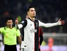 Juventus zonder Cristiano Ronaldo tegen Atalanta