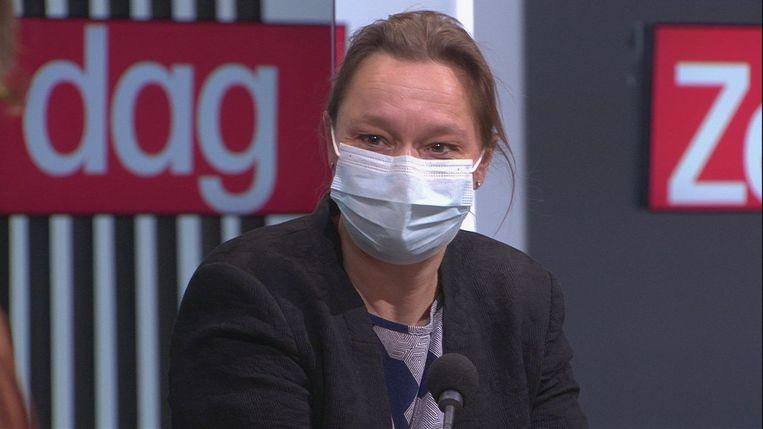 Erika Vlieghe. Beeld vrt