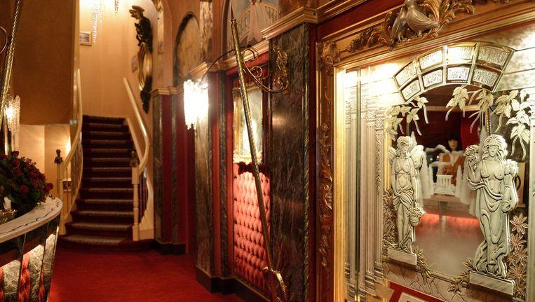 Interieur van de roemruchte seksclub Yab Yum. Beeld anp