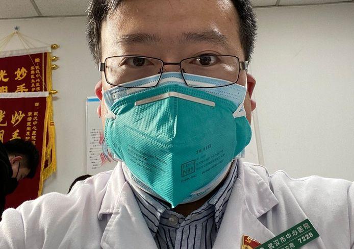 Dokter Li Wenliang waarschuwde in december al voor het nieuwe coronavirus.
