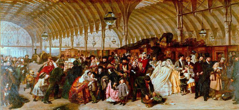 'The Railway Station' (1862). Beeld © Image Asset Management