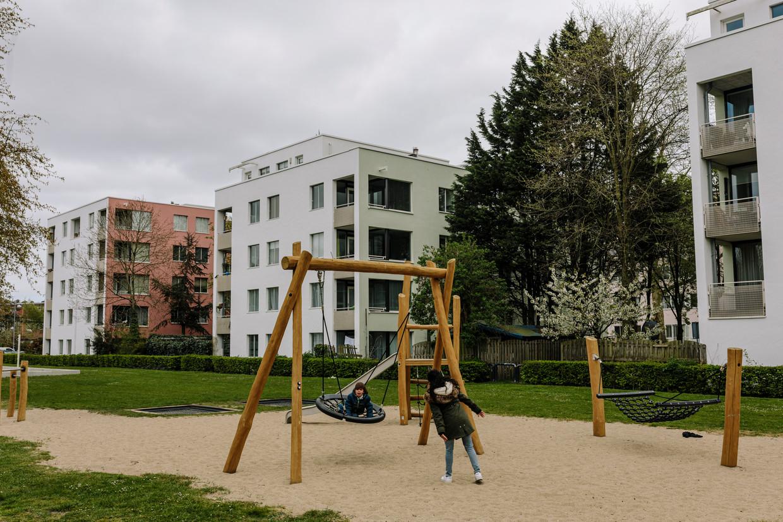 Het IJplein in Amsterdam Noord.  Beeld Marc Driessen