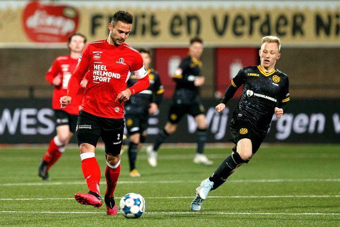 Guus Joppen keert na een lichte blessure terug in de wedstrijdselectie, het is nog de vraag of hij ook kan starten tegen NEC.