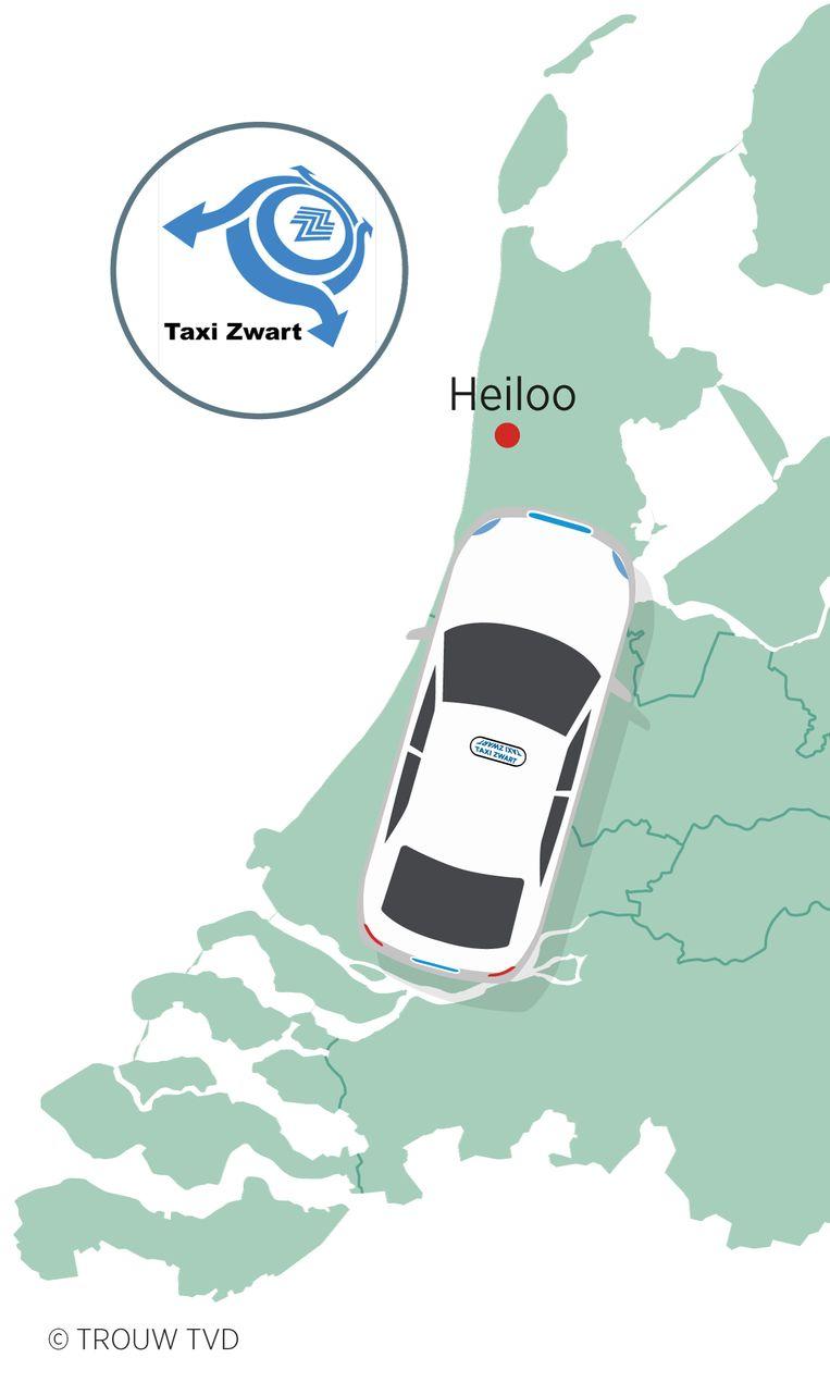 SITE DEFINITIEF serie kaart taxi Beeld Thijs van Dalen