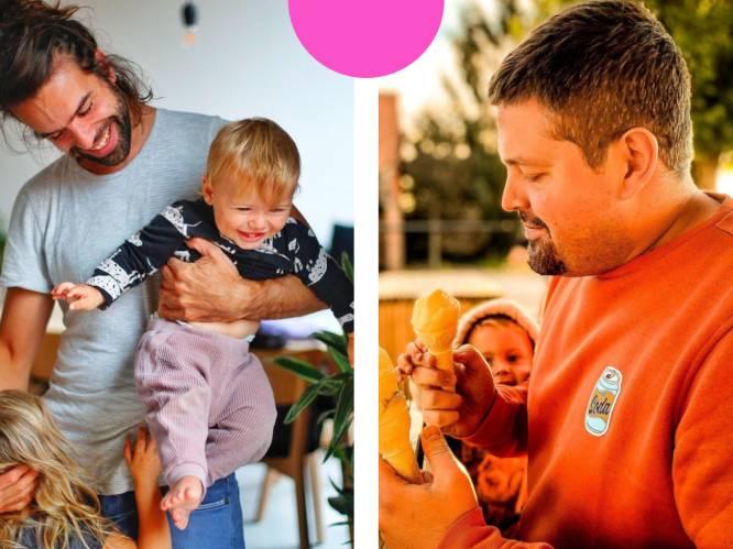 """Twee papa's over hun rol bij borstvoeding: """"Soms denk ik: kon ik Iggy maar hetzelfde geven"""""""