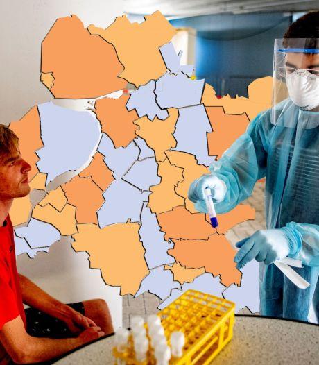 KAART | Nunspeet niet langer rood op de coronakaart en zeven gemeenten met nul besmettingen