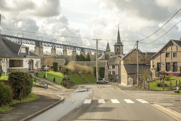 ►Het plaatsje Moresnet in Duitstalig België behoorde 100 jaar geleden tot het staatje Neutraal Moresnet. Beeld Dirk Wijnand de Jong