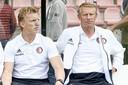 Arnold Scholten werkt sinds 2020 in de opleiding van Feyenoord, waar hij komend seizoen assistent-trainer wordt van Feyenoord onder 21.