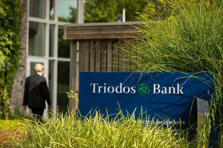 Exterieur van het hoofdkantoor van de Triodos Bank.  Beeld ANP