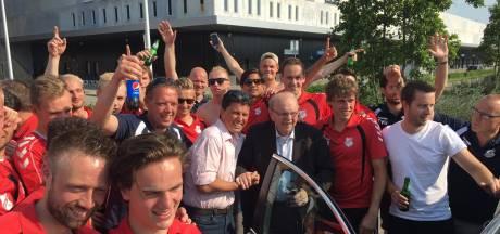 Hellendoorner Gerrit Westenberg (95) overleden: nooit gevoetbald, maar wel erelid Hulzense Boys