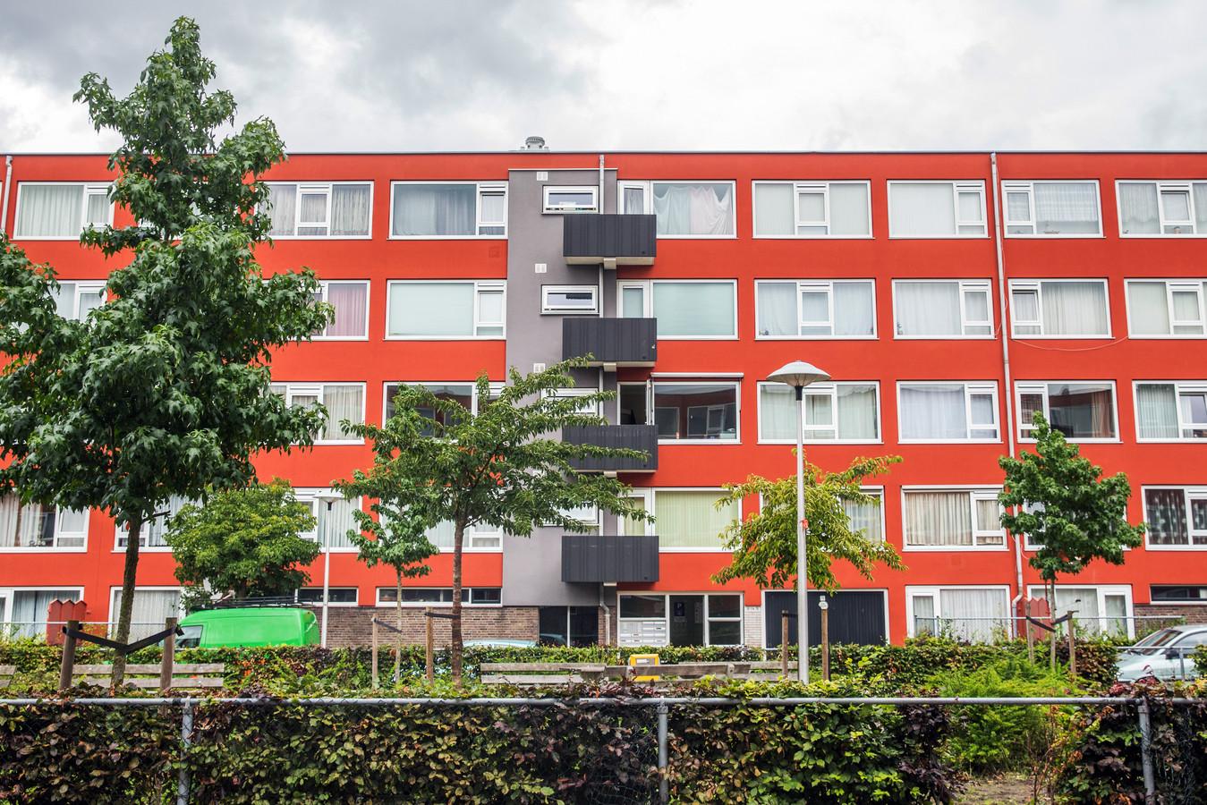 Huurwoningen van Woningnet in Kanaleneiland.