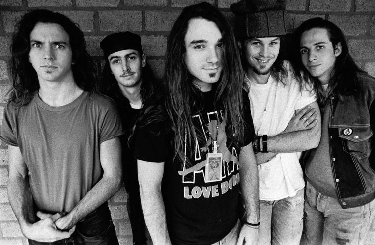 Pearl Jam met centraal frontman Eddie Vedder. Beeld Redferns