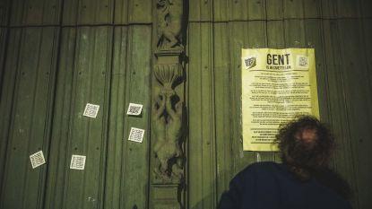 Gent hangt vol mysterieuze post-its met 'Gent is besmettelijk'