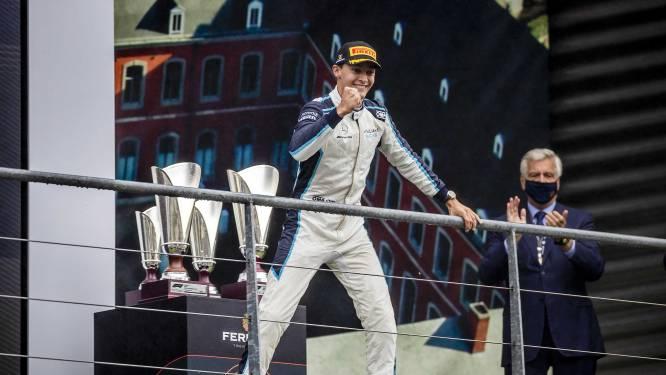 George Russell remplace Valtteri Bottas chez Mercedes