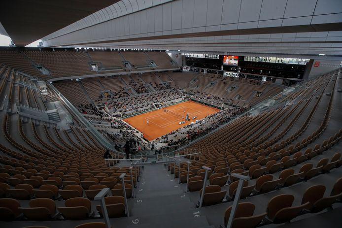 Roland Garros wordt een week later georganiseerd.